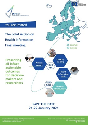 Save the date- InfAct final meeting